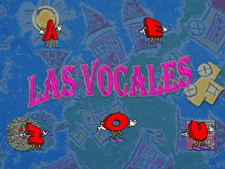 Actividades de las vocales