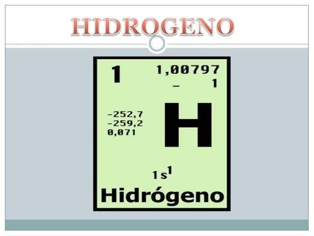 Hidrogeno Tabla Periodica La tabla periódica