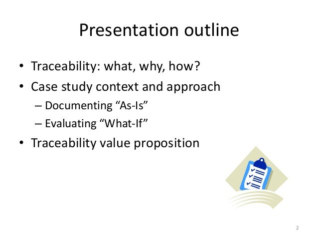 case study report outline