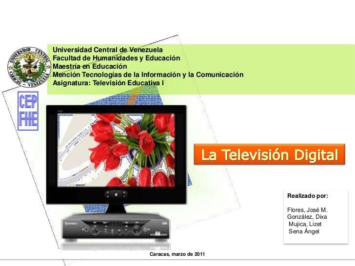 La televisión digital