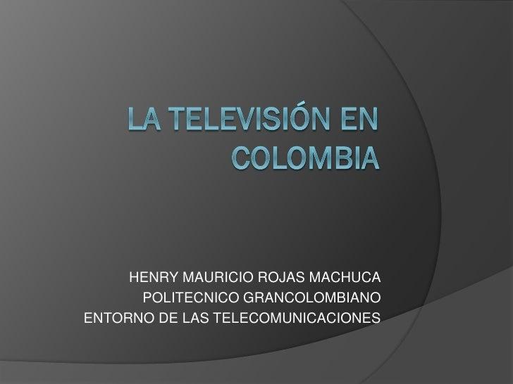 La television en colombia