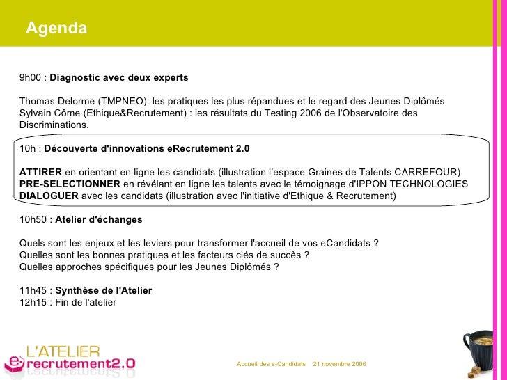 Agenda 9h00 :  Diagnostic avec deux experts Thomas Delorme (TMPNEO): les pratiques les plus répandues et le regard des Jeu...