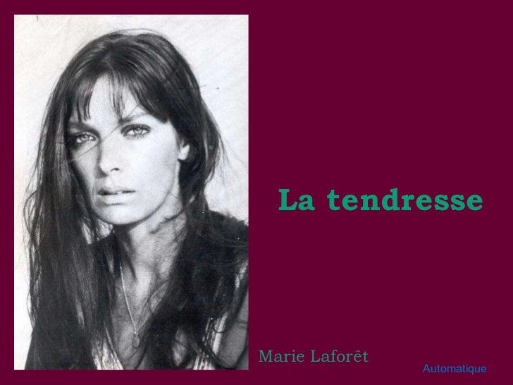 Marie Laforêt La tendresse Automatique