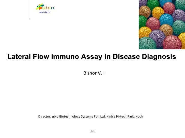 Lateral flow assay in Animal Disease Diagnosis