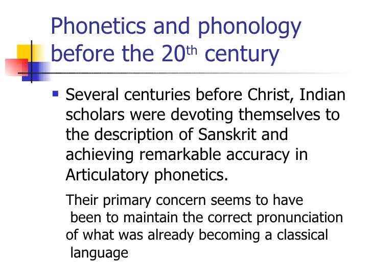 what are phonetics and phonology Ph on o i ogy the phonetics of phonology john j ohala university of california, berkeley, usa phonology seeks to understand the behavior of.