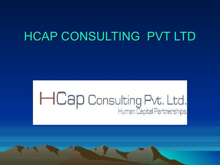 HCAP CONSULTING  PVT LTD
