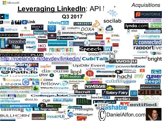 2015 API Hacks: New ways of exploring LinkedIn