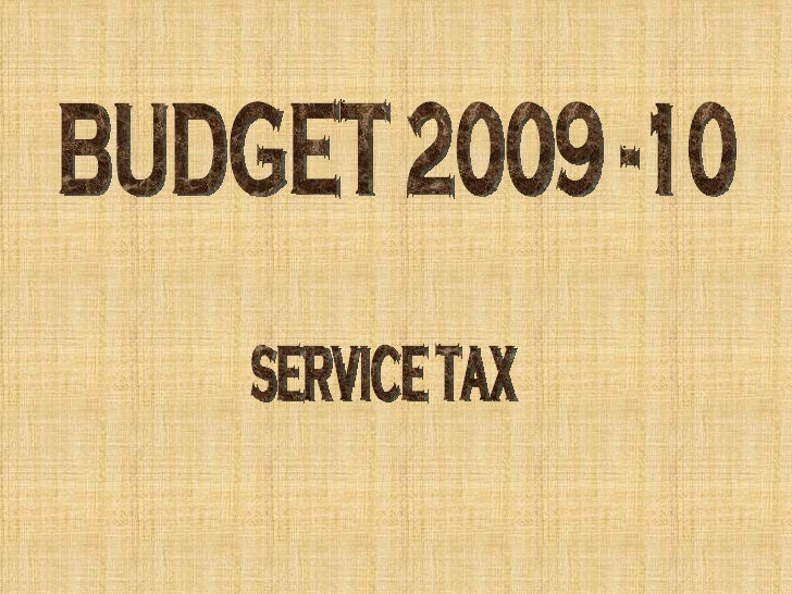 Recent Amendments in               Service Tax • Newly added service       • Transport of Goods by Rail       • Transport ...