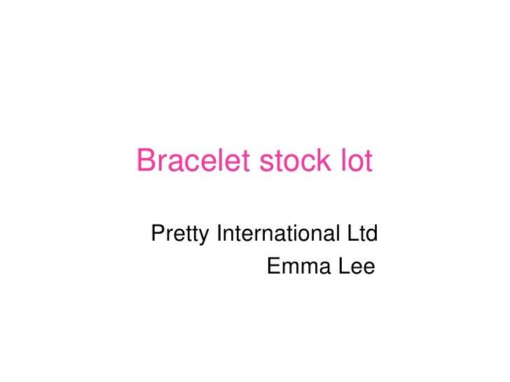 Steel and Titanium Bracelets