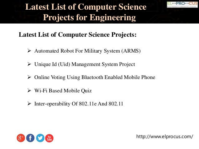computer science fair projects