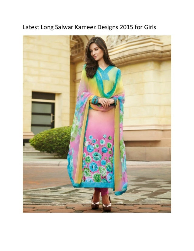 Salwar Kameez Patterns 2015 Salwar Kameez Designs 2015