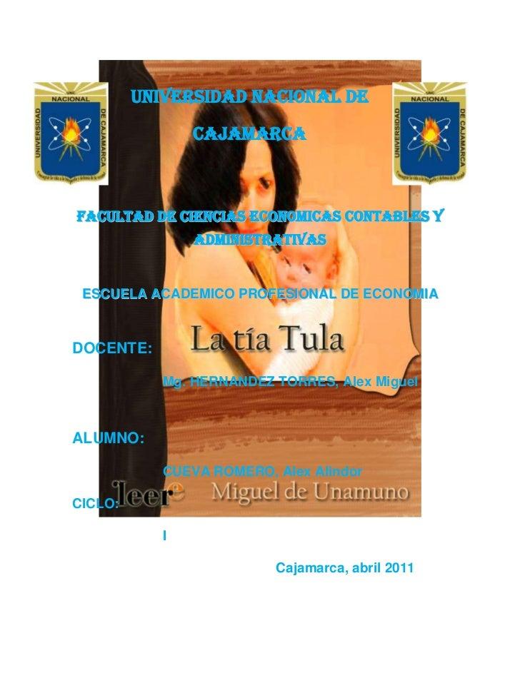 399225-1924<br />47840902540-5867402540UNIVERSIDAD NACIONAL DE CAJAMARCA<br />FACULTAD DE CIENCIAS ECONOMICAS CONTABLES Y ...