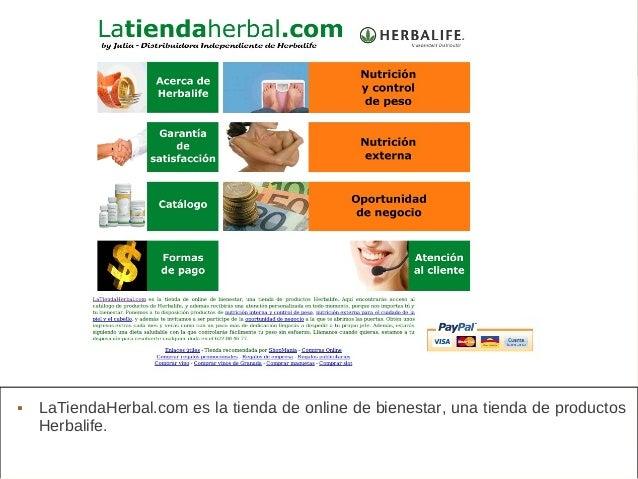 La Tienda Herbal  LaTiendaHerbal.com es la tienda de online de bienestar, una tienda de productos Herbalife.
