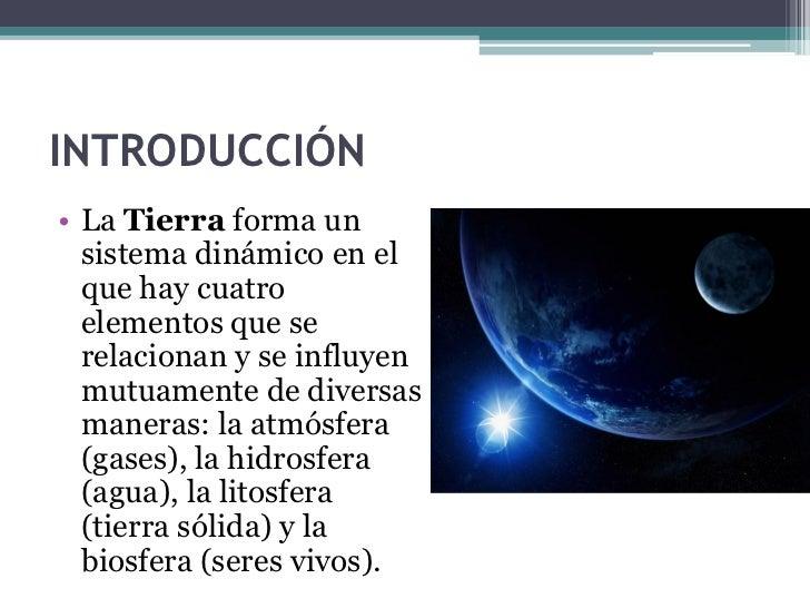 LA TIERRA, PLANETA DEL SISTEMA SOLAR