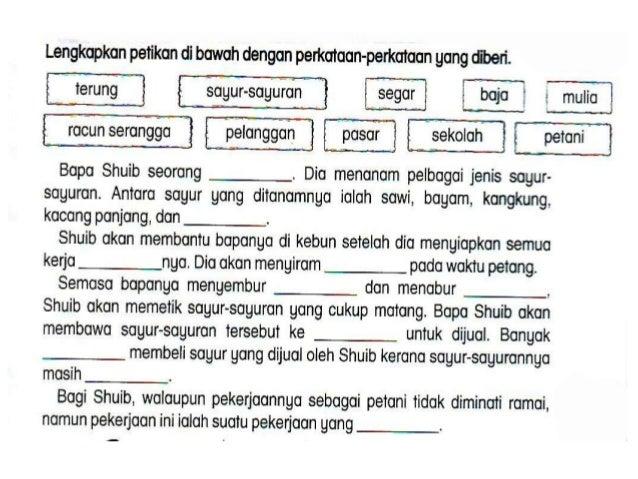 Latihan B.Melayu Tahun3