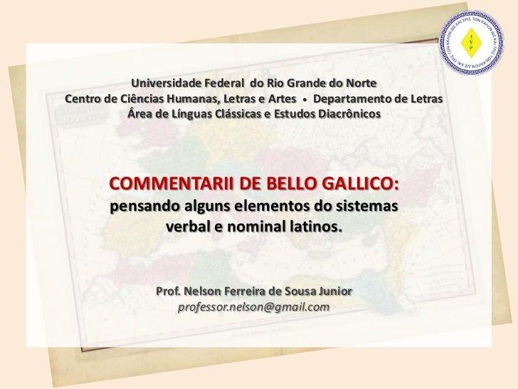 Universidade Federal do Rio Grande do NorteCentro de Ciências Humanas, Letras e Artes • Departamento de Letras           Á...