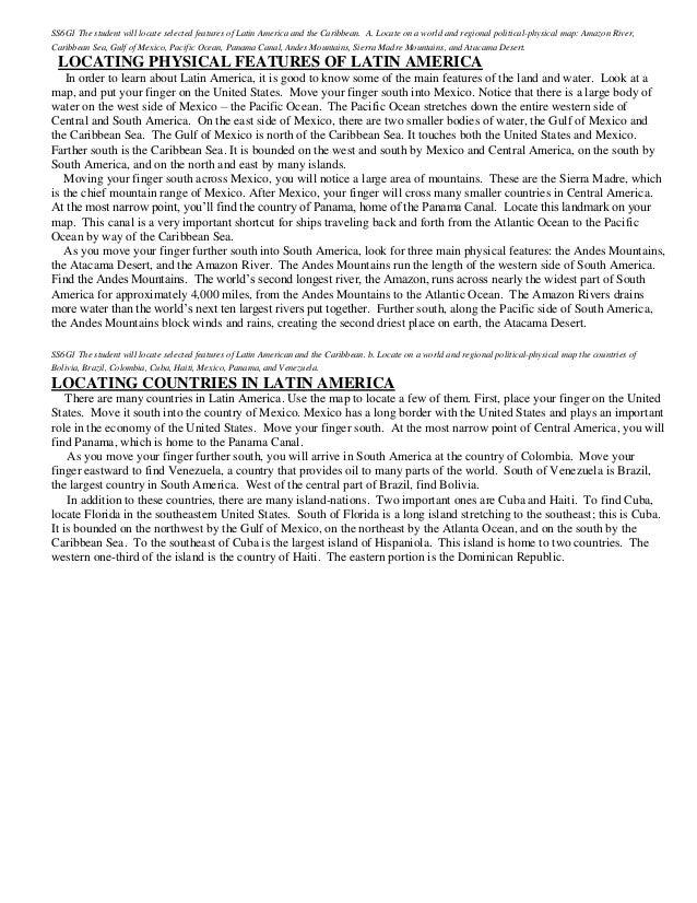 Latin america crct_prep_notes