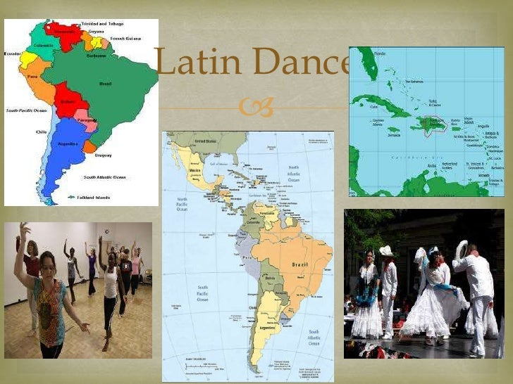 Latin dance presentation