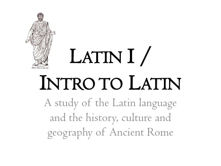 how to learn latin reddit