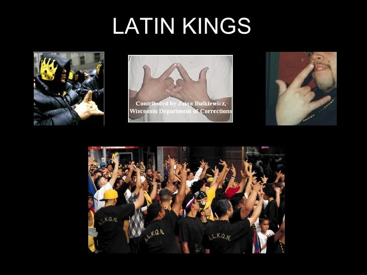 Latin Kings Hand Signals