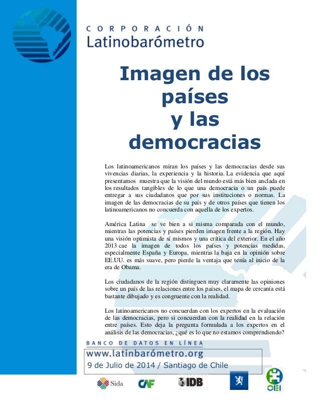 Latinobarómetro julio 2014