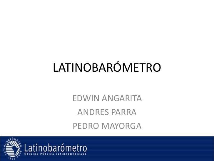Latinobaromatro