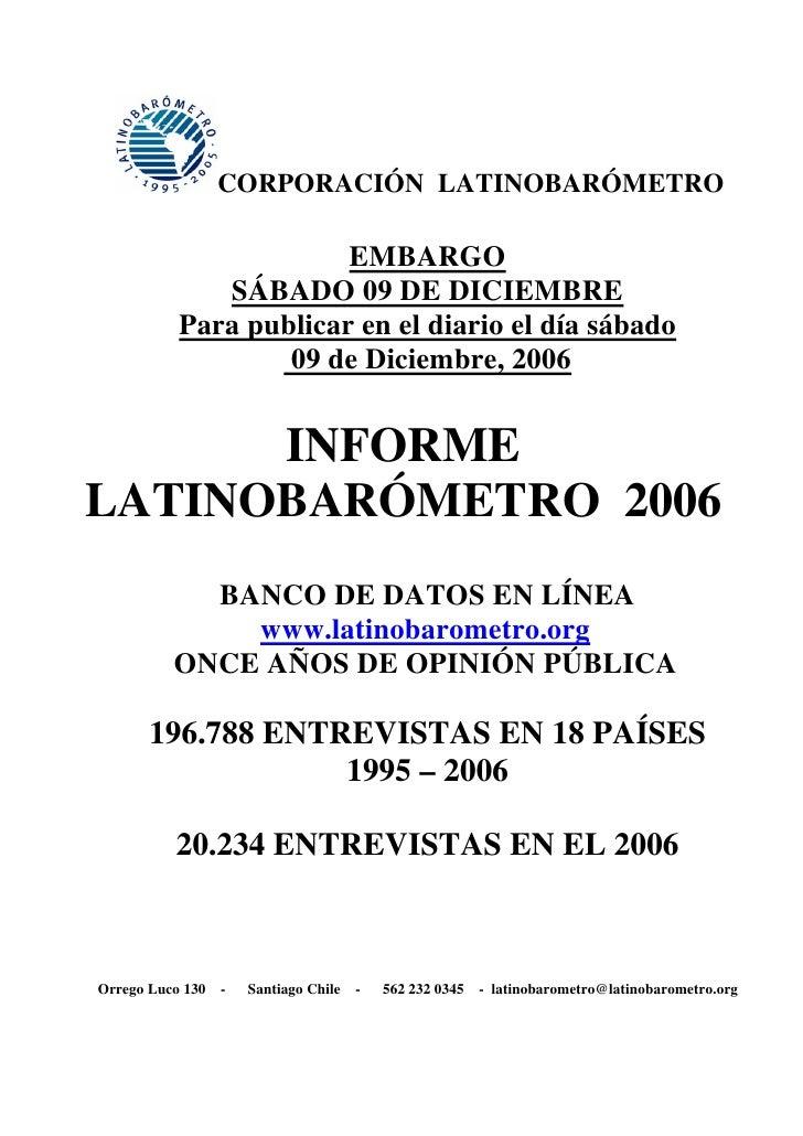 Latinobarometer Survey  11