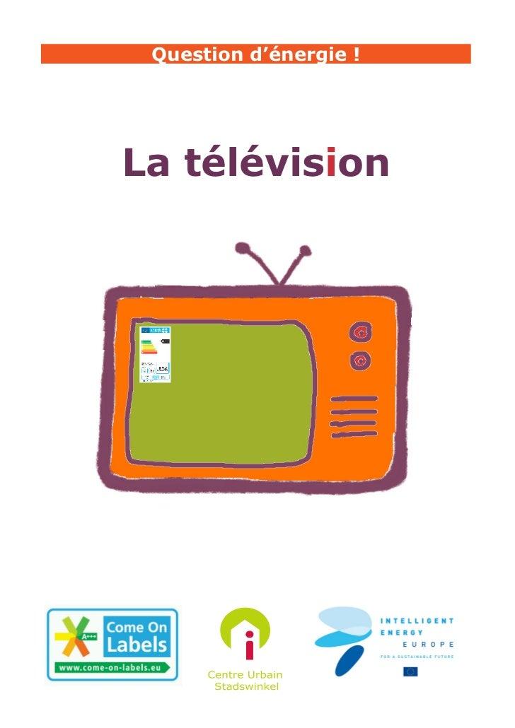 La télévision et son label énergétique