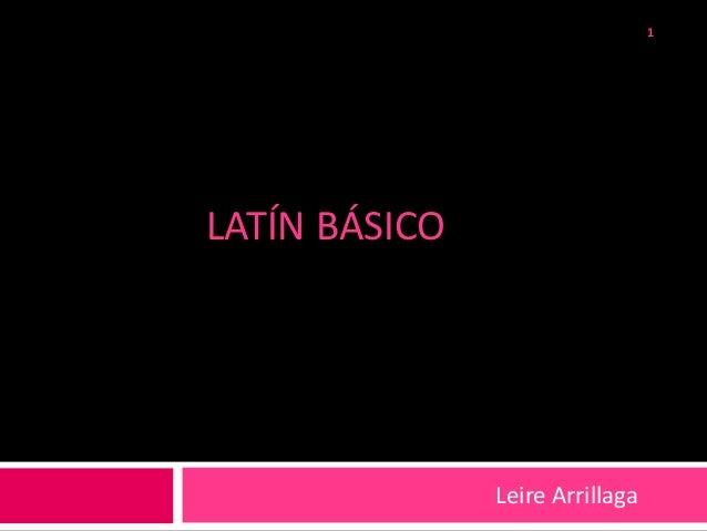 Latín básico