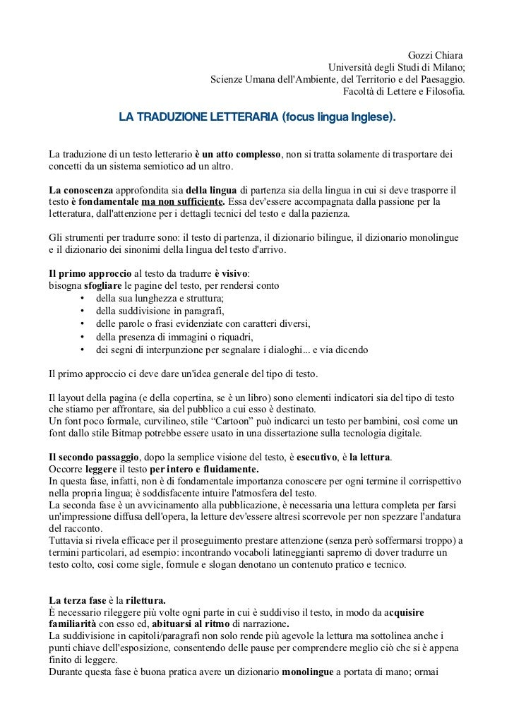 Gozzi Chiara                                                                  Università degli Studi di Milano;           ...