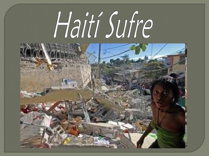 La tragedia de Haití