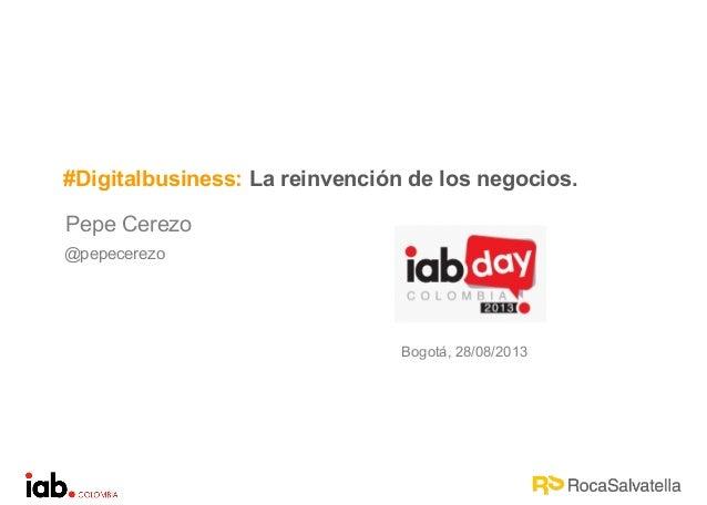 Digital business, la reinvención de los negocios