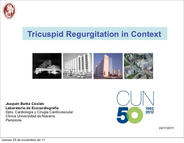 Tricuspid Regurgitation in Context