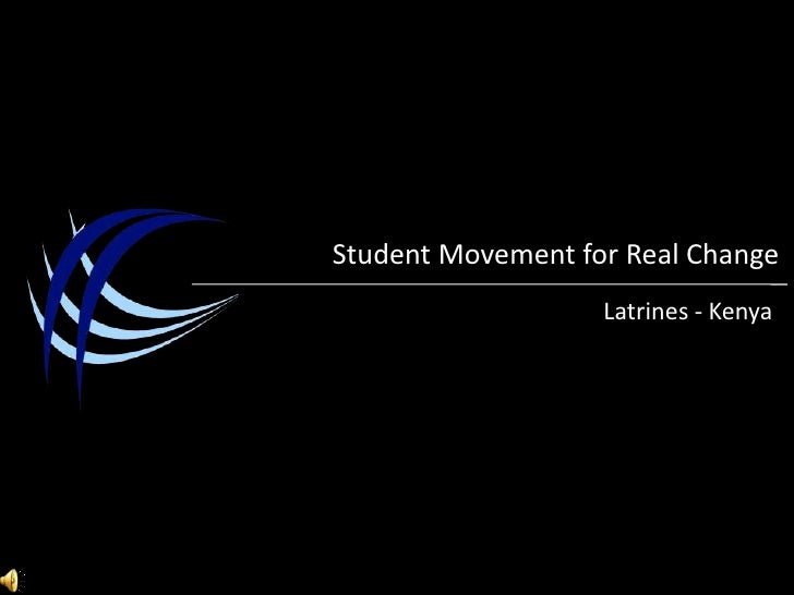 Student Movement for Real Change<br />Latrines- Kenya<br />