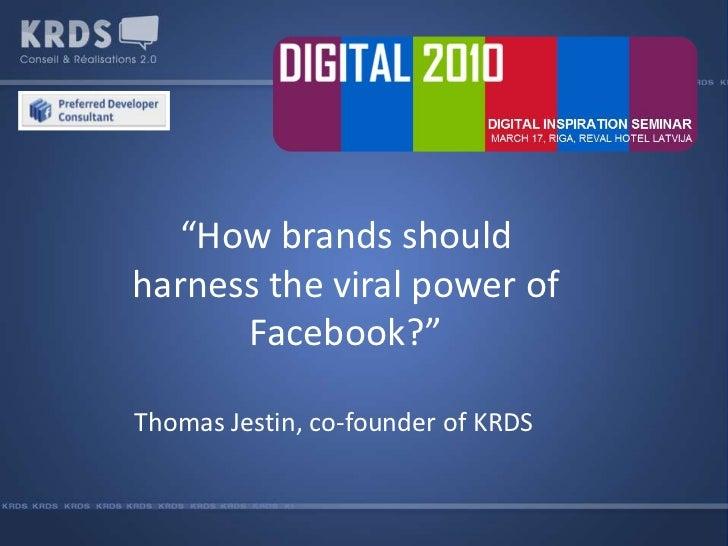 Thomas Jestin at Inspired Digital 2010