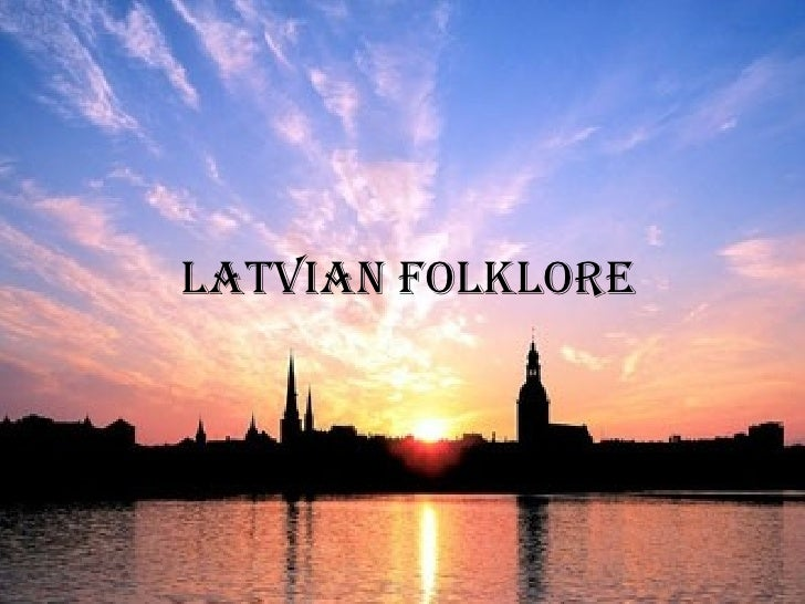 Latvian folklore