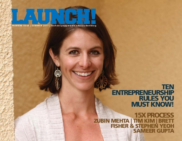 LAUNCH! Magazine Issue One