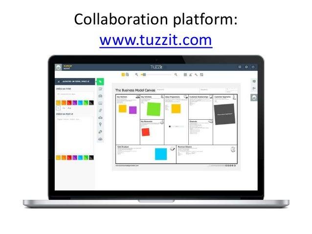 Collaboration platform: www.tuzzit.com