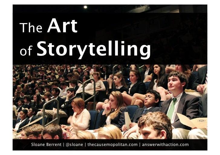 The Art of Storytelling for Social Entrepreneurs