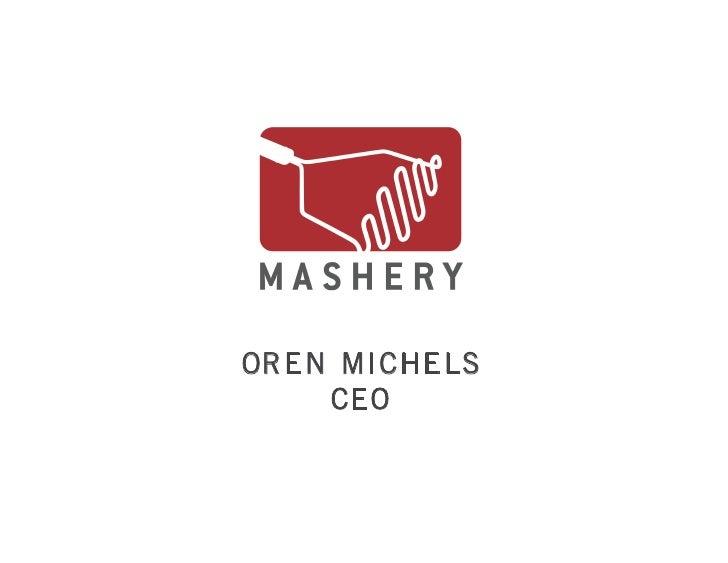Launching & Managing an API Program with Mashery