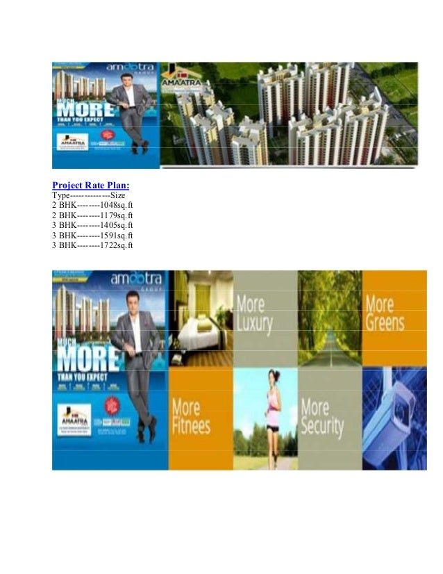 Project Rate Plan: Type--------------Size 2 BHK--------1048sq.ft 2 BHK--------1179sq.ft 3 BHK--------1405sq.ft 3 BHK------...