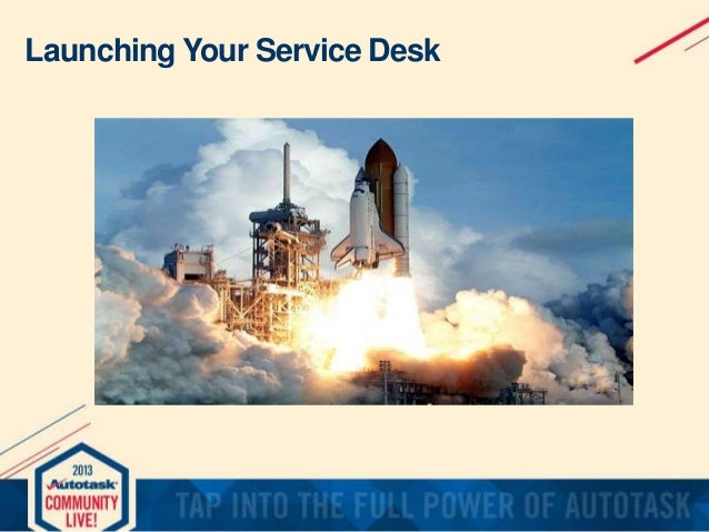 Launching Your Service Desk