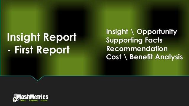 MashMetrics anti-Dashboard - Insight Report