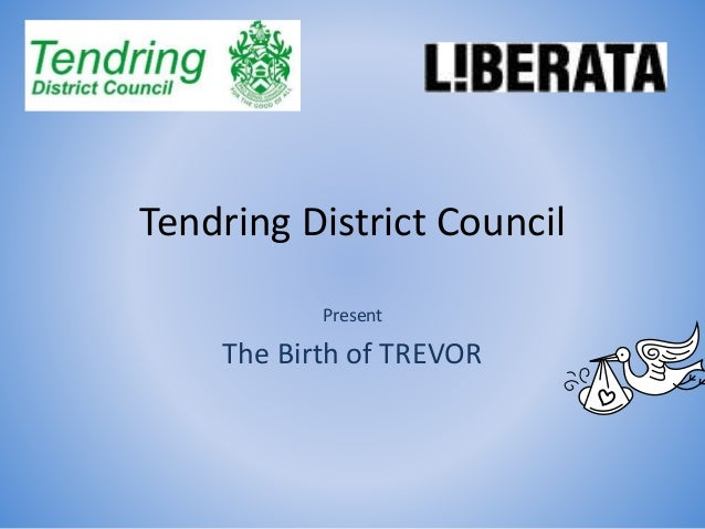 Tendring District Council Present The Birth of TREVOR
