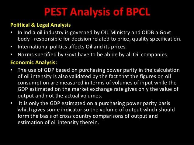 pest analysis for india