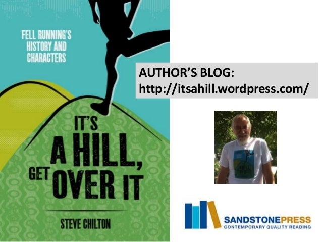 'It's a hill, get over it' book launch