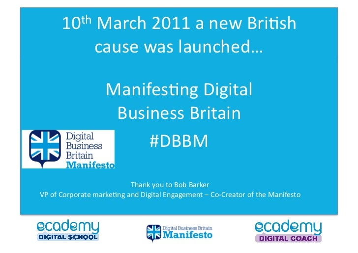 10th March 2011 a new Bri0sh                         cause was launched…                              Ma...