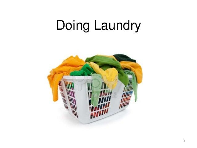 Doing Laundry                1
