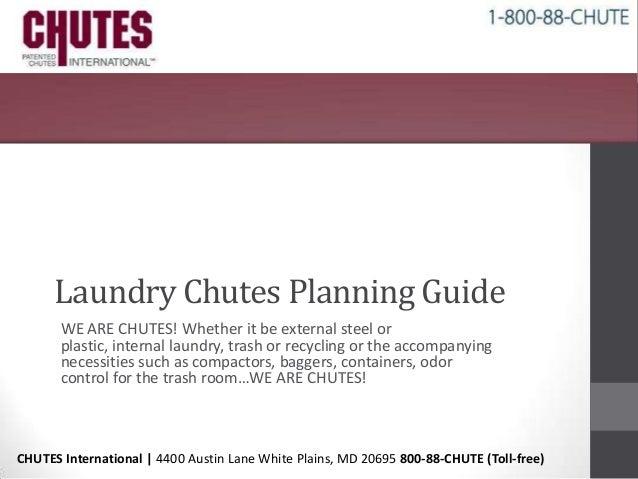 Laundry chutes chutes international for Laundry chute dimensions