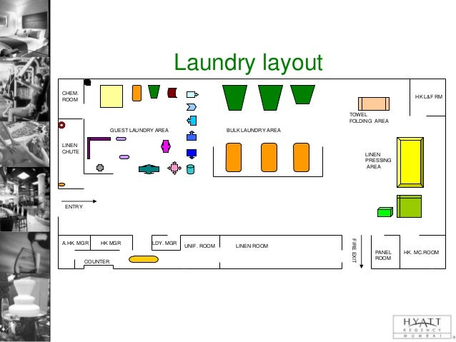 Laundry presentation for Hotel laundry room layout